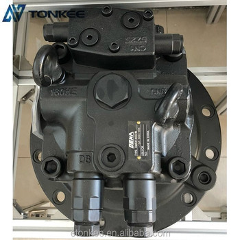DM5X180CHB-10A-60D swing gearbox with motor M5X180CHB swing reductor SH350-5 SK350-8