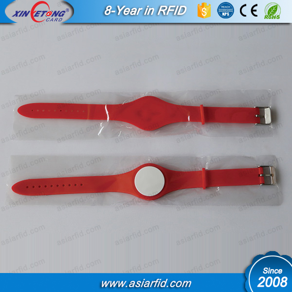 Cheap Silicone Wristband Ultralight 64Bytes RFID Wristband for Adidas