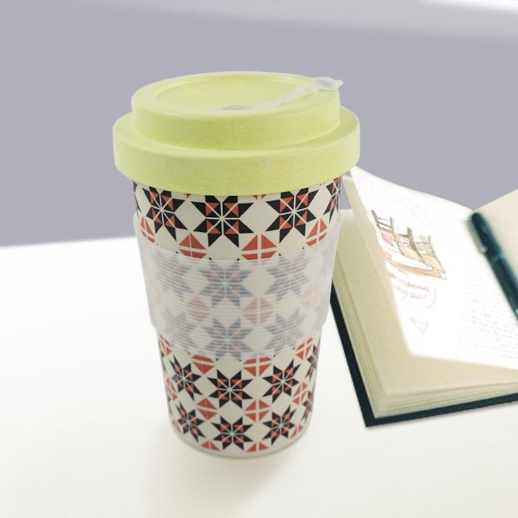 wholesale personalized custom eco friendly coffee biodegradable travel mug for working