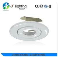 ETL 4 inch low voltage recessed lighting trim for white gimbal trim MR16 GU10