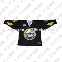 Wholesale custom sublimation ice hockey training jersey