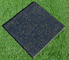 colorful indoor gym rubber granule mat