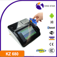 3G wifi bt factory touch screen android pos