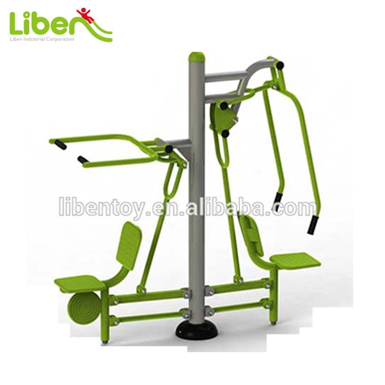 Useful Multi Gym Equipment for Outdoor Body Exercise Pull and Push Chairs Track Series