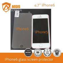 Factory Outlets cellphone accessories factory in china tempered glass screen protector for jPhone6