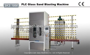 SKS-2500 Automatic Glass Sandblasting Machine Sandblast Machine