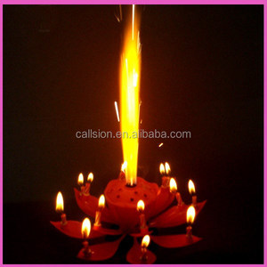 Opening Flower Birthday Candle Suppliers And Manufacturers At Alibaba