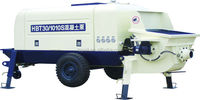 Electric Power Type and New Condition Trailer Concrete Pump