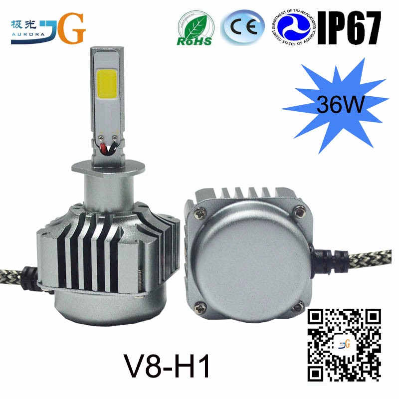 4800Lm Car Led Light H1 H3 H7 H4 H11 880 801 9005 9006 Led Auto Headlight For Car Accessories