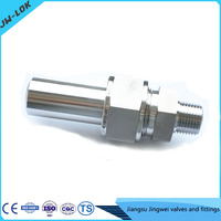 Socket weld and npt thread pipe fitting