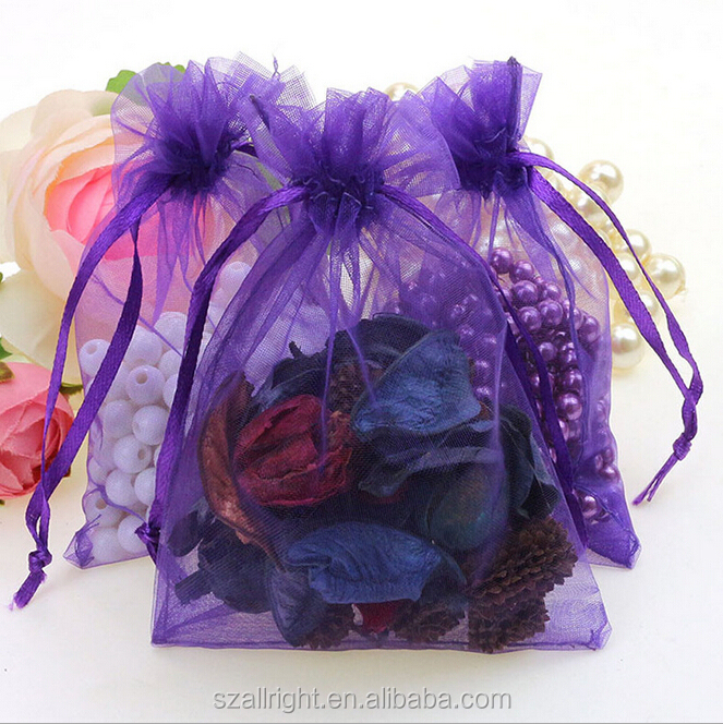 23 Colors 20 Sizes In Stock Cheap Personalized Gift Organza Bags Wholesale