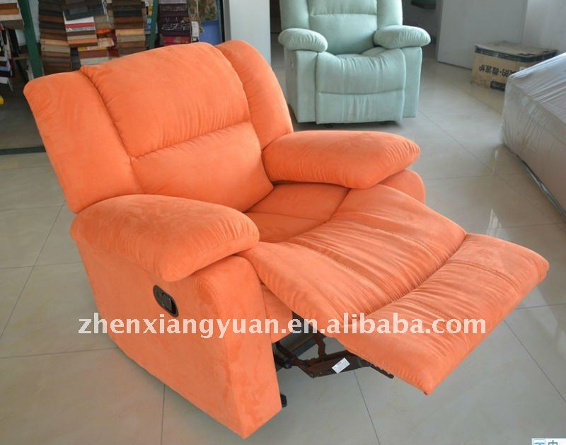 2017 excellent manual recliner rocker swivel chair microfiber arm chair