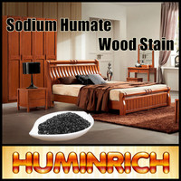 Huminrich Sodium Humate100% Soluble Natural Brown Wood Stain Coating For Wood Furniture