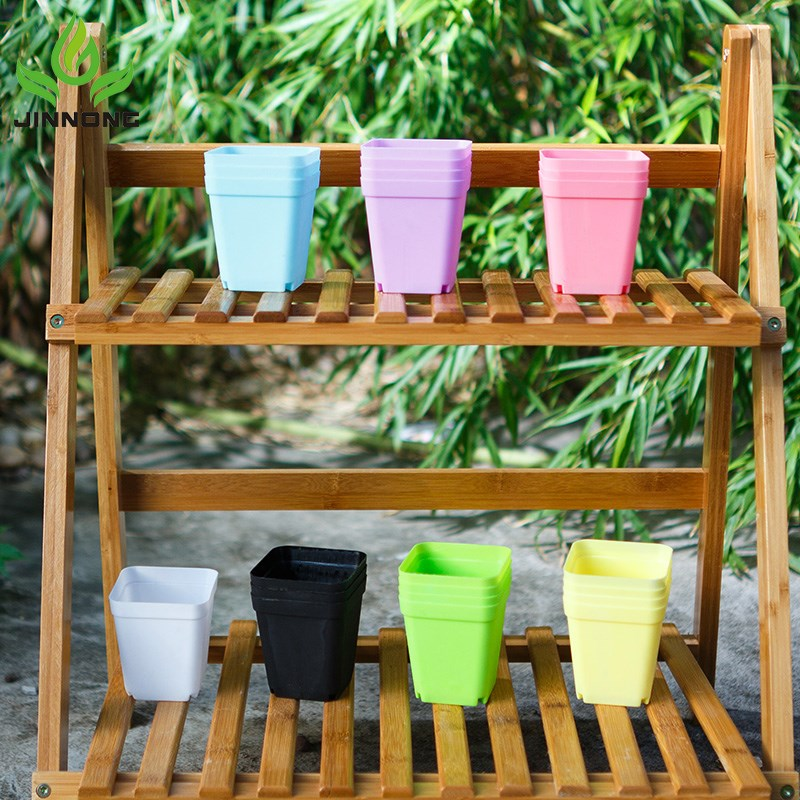 Garden supplies attractive colorful plastic flower pot