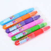6 Colors Dye Hair Stick A Crayon One-off Color Gradient Hair Dye