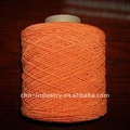 Colored elastic nylon thread