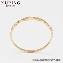 51853 High quality elegant indian gold plated stuff bangle for women