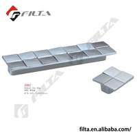 zinc alloy flush cabinet pull and knob