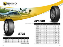 radial tires for passenger cars RHINO car tyre pcr tyre with BIS