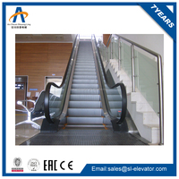 type of glass effect escalator part
