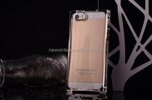 Factory direct sale TPU ice lightning crystal phone case for iphone5s shell