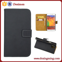 Desimon Book style Retro Wallet Flip Real leather case cover for Samsung Galaxy Note 3
