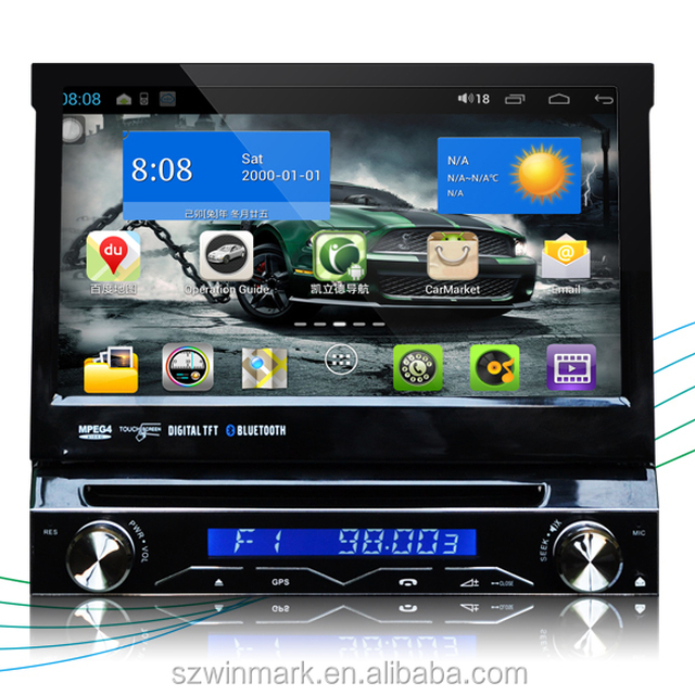 Popular universal 7'' single din pure android OS car dvd gps TV radio audio ipod DP7088 with GPS 3g wifi for universal cars.