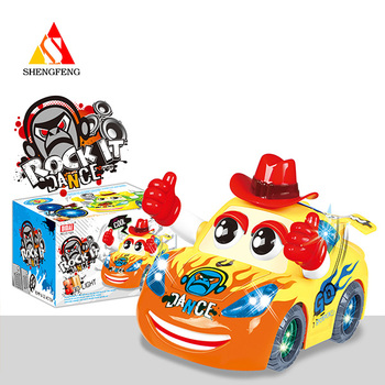 3D battery operated toys with child b/o car electronic toys