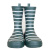 Children's Striped Printing  Natural Waterproof Rubber Rain Boots