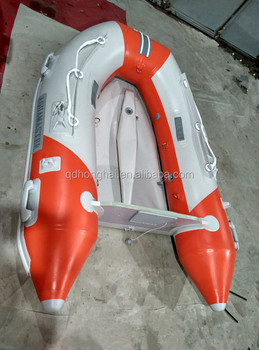 2.0m inflatable boat Aluminum floor with CE certification made in China