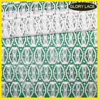 [GLORYLACE] new TRADE ASSURANCE handcut lace with applique french chantilly lace fabric with polyester mesh