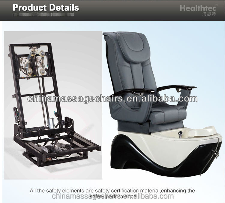 pedicure salon chair parts