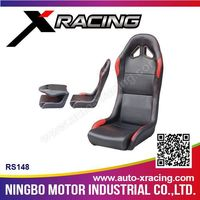 XRACING RS148 leather car seat cover, car leather seat, adult car booster seat