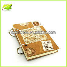 Eco-friendly Journal note book with two rings