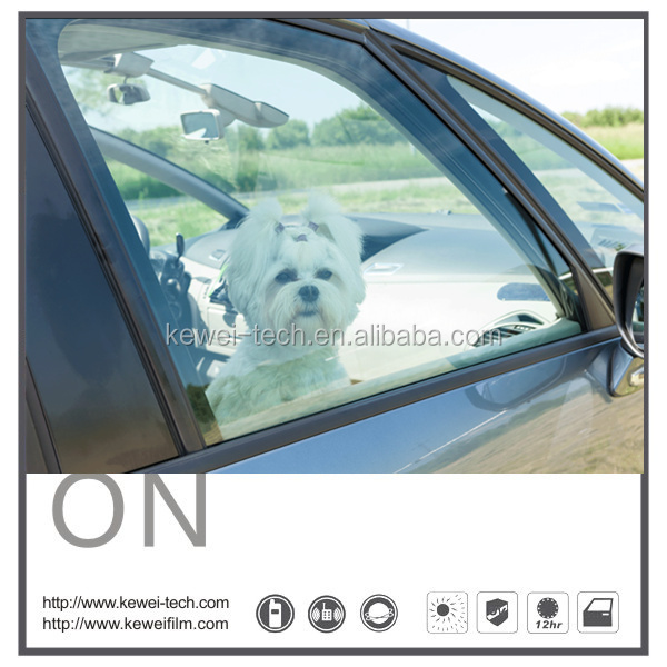 Switchable PDLC smart film, electric tint film for car window