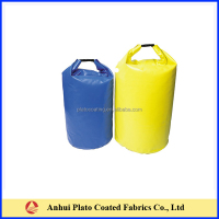 waterproof dry duffle bag made in pvc coated tarpaulin fabric
