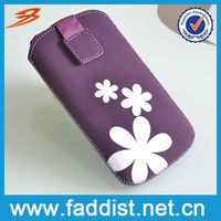 Purple Pouch Cover for Samsung Galaxy s4 mini Phone Case