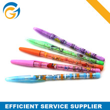 Promotional Transparent Cartoon Plastic Machnical Pencil