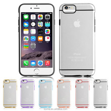 New arrival luxury ultra thin transparent case for iphone 6 7