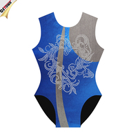 Royal Blue Girls Gymnastic Leotards With