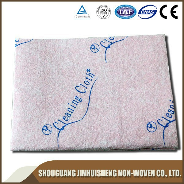 Different type colorful needle punched nonwoven fabric for wipes
