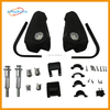 Black dirt bike new style cheap ABS plastic pitbike handguard