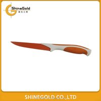 5 Inch colorful stainless steel cutting knife beef knife