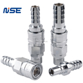 Medium flow air quick disconnect coupling pneumatic quick connect coupler NISE customised