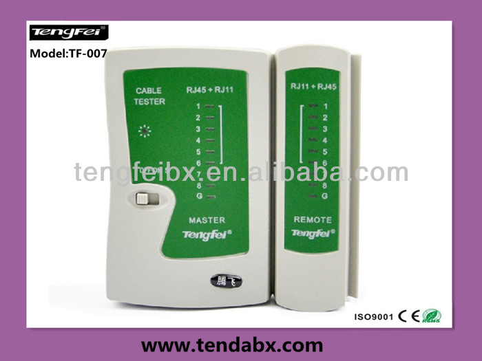 High quality rj11 rj 45 cable insulation tester