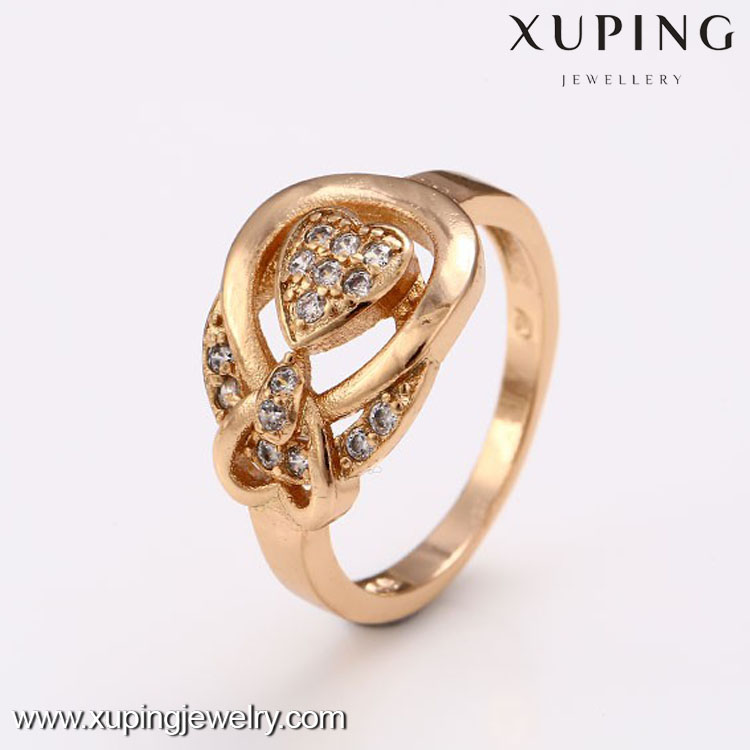12446- Xuping White stone jewelry ring wholesale promotion price for women