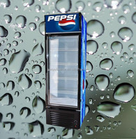 Sanye high quality best sale glass door pepsi cooler with CE certification