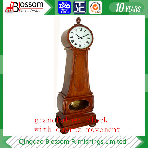pendulum grandfather clock with quartz movement