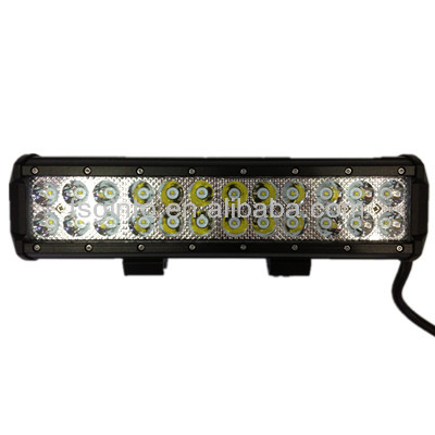 HOT SALE! Waterproof 3W Cree LED light bar cree 54w truck roof off road tractor light bar