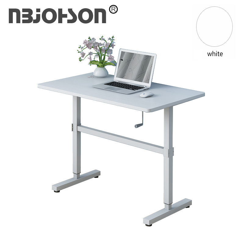 Manual Height Adjustable Table Metal Table Legs